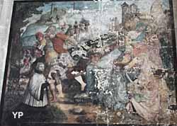 Église Saint-Gervais Saint-Protais - le portement de croix (1562)