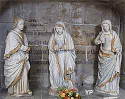 Église Saint-Gervais Saint-Protais - deux saintes femmes et Saint-Jean l'Evangéliste