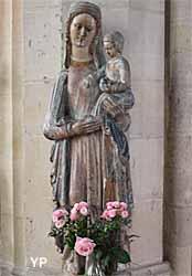 Église Saint-Gervais Saint-Protais - vierge polychrome