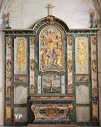 Église Saint-Gervais Saint-Protais - retable (XVIIIe s.)