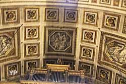 Église de la Madeleine - plafond à caissons