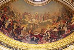 Église de la Madeleine - décor du plafond du choeur