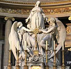 Église de la Madeleine - autel