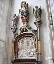 Collégiale Saint-Vulfran - chapelle des saints Anges et saint Luc, retable du Jugement dernier
