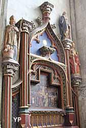 Collégiale Saint-Vulfran - chapelle de sainte Anne