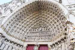 Amiens, cathédrale Notre-Dame - portail central