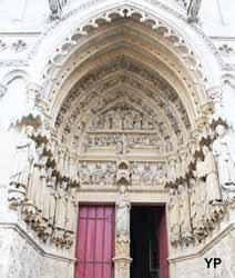 Amiens, cathédrale Notre-Dame - portail de droite