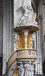 Amiens, cathédrale Notre-Dame - chaire