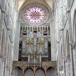 Amiens, cathédrale Notre-Dame - grandes orgues