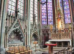 Amiens, cathédrale Notre-Dame - chapelle Notre-Dame la Drapière