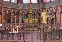 Amiens, cathédrale Notre-Dame - chapelle saint Jacques le Majeur dite du Sacré-Coeur