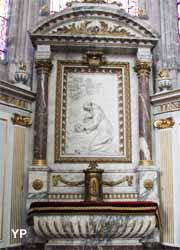 Amiens, cathédrale Notre-Dame - chapelle saint Nicaise, dite saint François d'Assise