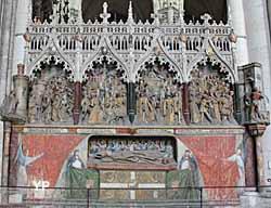 Amiens, cathédrale Notre-Dame - clôture du choeur