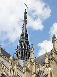 cathédrale Notre-Dame  - flèche