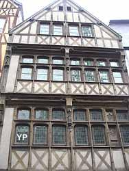 maison du Moyen-Age à Rouen (doc. Yalta Production)