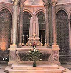 Cathédrale Notre-Dame - chapelle absidiale de sainte Thérèse