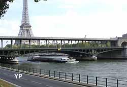 pont Bir-Hakeim à Paris