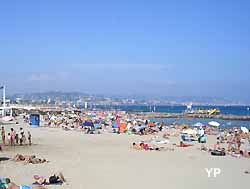 plage de Juan-les-Pins (doc. Yalta Production)