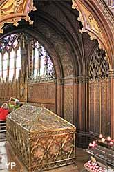 Eglise Saint-Etienne-du-Mont - chapelle de Sainte Geneviève