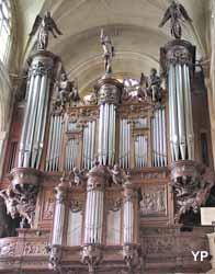 Eglise Saint-Etienne-du-Mont - grandes orgues