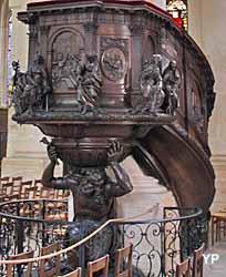 Eglise Saint-Etienne-du-Mont - chaire
