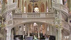 Eglise Saint-Etienne-du-Mont - jubé Renaissance (1530)