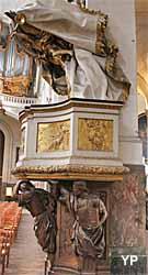 Eglise Saint-Roch - chaire