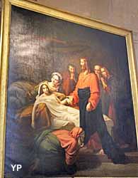 Eglise Saint-Roch - Jésus ressucite la fille de Jaïre