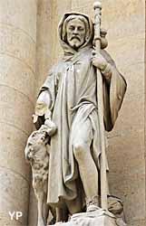 Eglise Saint-Roch - Saint Roch et son chien