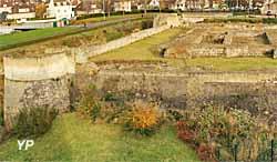 Château Ducal - ruines du donjon du XII e sècle