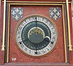 Cathédrale Saint-Etienne - horloge astronomique
