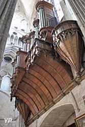 Cathédrale Saint-Etienne - grandes orgues