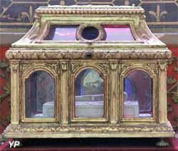 Cathédrale Saint-Etienne - reliques de Saint Ursin, premier évêque de Bourges