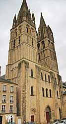 Abbaye aux Hommes à Caen - Eglise abbatiale Saint Etienne