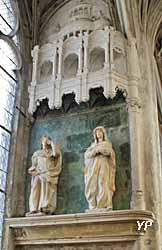 Eglise Saint Pantaléon - la Vierge et Saint-Jean