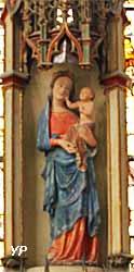 Eglise Saint Pantaléon - Vierge à l'enfant