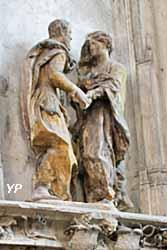 Eglise Saint Pantaléon - Anne et Joachim à la Porte Dorée