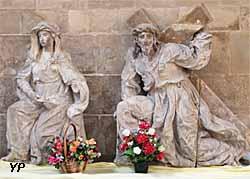 Eglise Saint Pantaléon - Vierge de douleur et Portement de croix