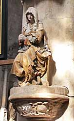 Eglise Saint Pantaléon - Vierge de douleur (1530)