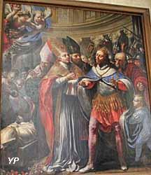 cathédrale Notre-Dame - Miracle de la dent de Saint Rieul (Mathieu Frédeau, 1645)
