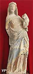 cathédrale Notre-Dame - Vierge à l'enfant (XIVe s.)