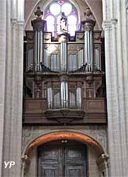 cathédrale Notre-Dame - grandes orgues