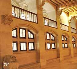 château de Pierrefonds - salle des gardes