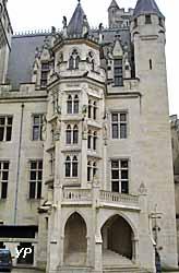 château de Pierrefonds - escalier à vis