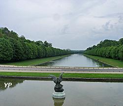 Château de Fontainebleau - canal d'Henri IV