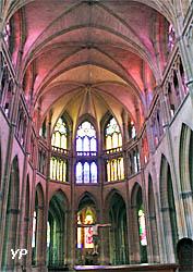 Cathédrale Saint-Cyr-et-Sainte-Julitte - choeur gothique