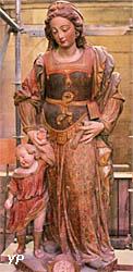 Cathédrale Saint-Cyr-et-Sainte-Julitte - Saint-Cyr-et-Sainte-Julitte (pierre polychrome XVIe s.)