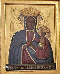 collégiale Saint-Martin - Vierge noire de Czestochowa