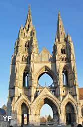 Abbaye Saint-Jean-des-Vignes - façade occidentale