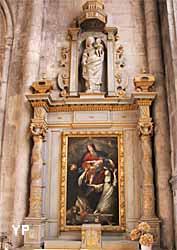 Collégiale Notre-Dame - chapelle du Rosaire